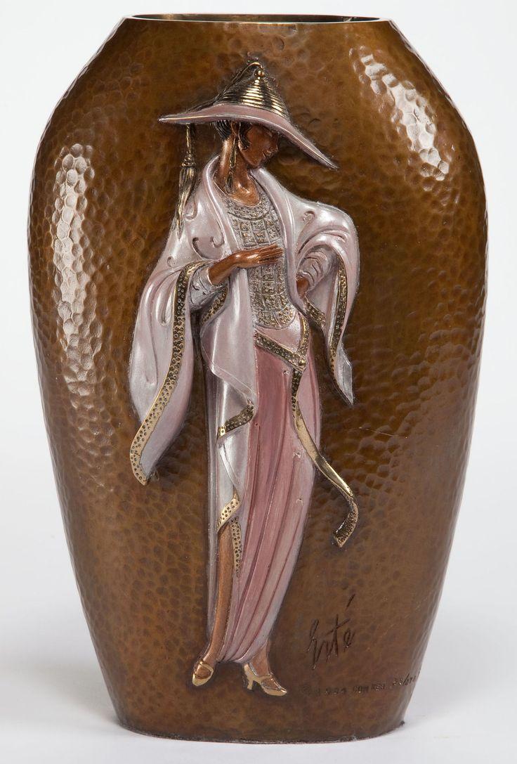 18 best i love e rte art images on pinterest erte art for Vase antique romain
