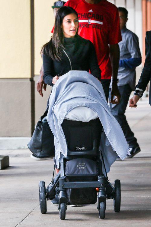 Kim Kardashian Lunch With Nori Orbit Baby Love Baby