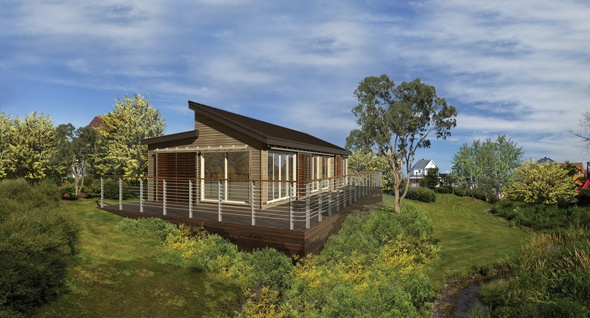 Element blu homes eco friendly prefab house awesome homes on this site