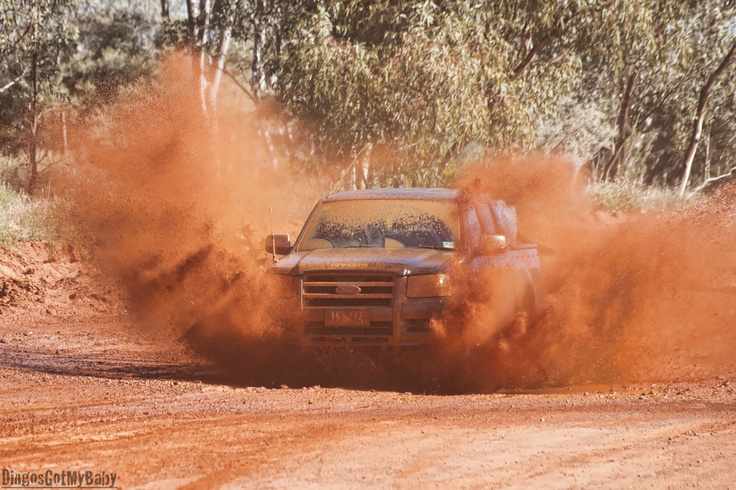 Having fun in the Outback