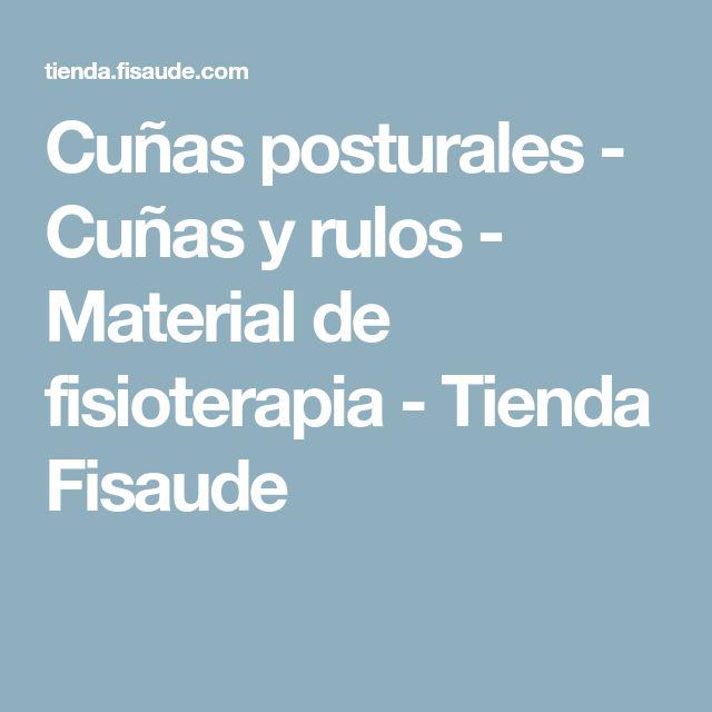 Cuñas posturales - Cuñas y rulos - Material de fisioterapia - Tienda Fisaude