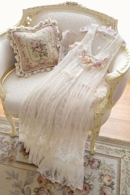 Love a lacy, romantic gown