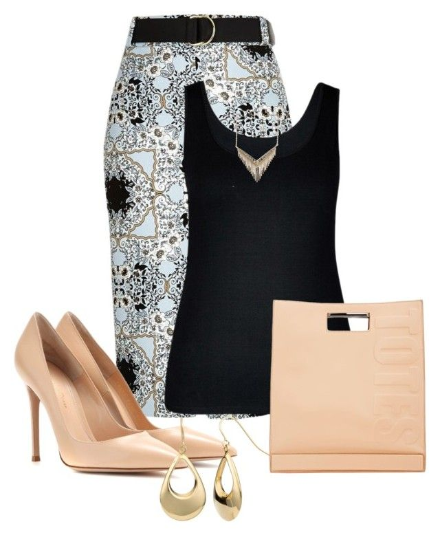 Untitled #2421 by janicemckay on Polyvore featuring polyvore, fashion, style, City Chic, River Island, Gianvito Rossi, 3.1 Phillip Lim, Fremada, Melinda Maria and clothing