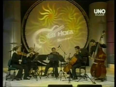 """El panecillo Quinteto de cuerdas """"Fundacion cultural Equinoccio"""""""