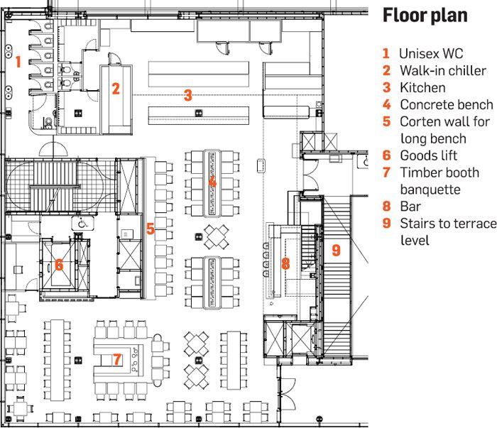 Mexican Restaurant Kitchen Layout 24 best restaurants images on pinterest | restaurant design, floor