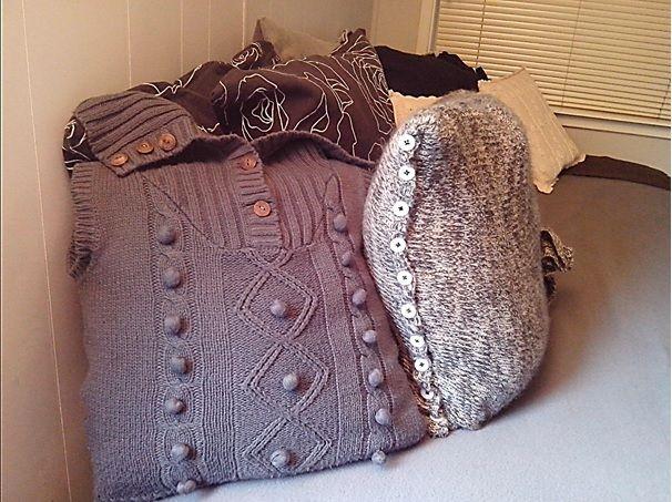 6de plaatje DIY truien zie het resultaat