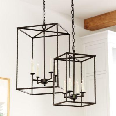 Hadley 4-Light Pendant Chandelier - http://centophobe.com/hadley-4-light-pendant-chandelier/ -