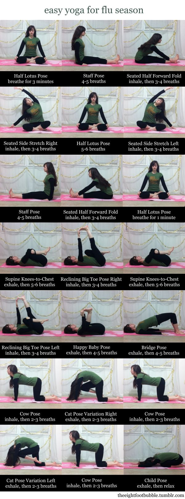 yoga for flu season