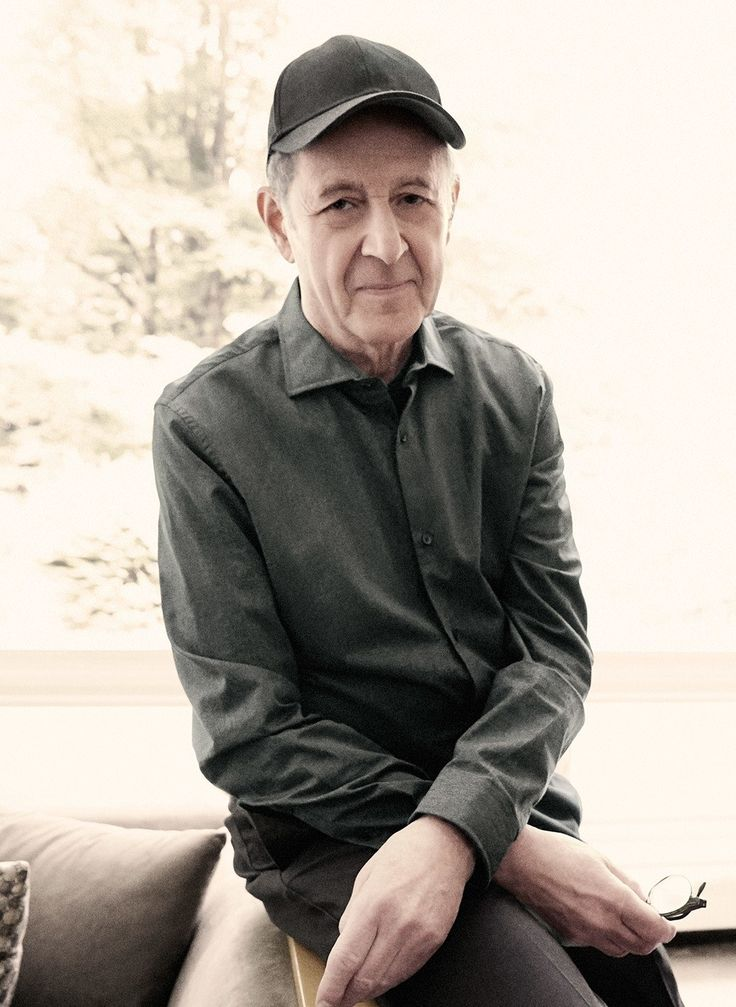 Steve Reich, at home, in Pound Ridge, New York. Photograph by Steven Sebring.