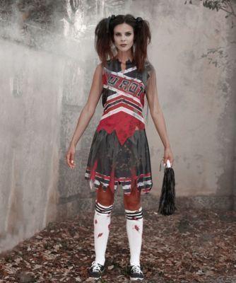 The 25+ best Zombie cheerleader makeup ideas on Pinterest | Zombie ...
