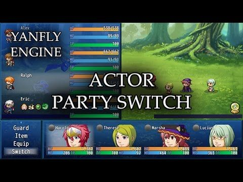 Party System >> Actor Party Switch Released: 2016 06 17 For