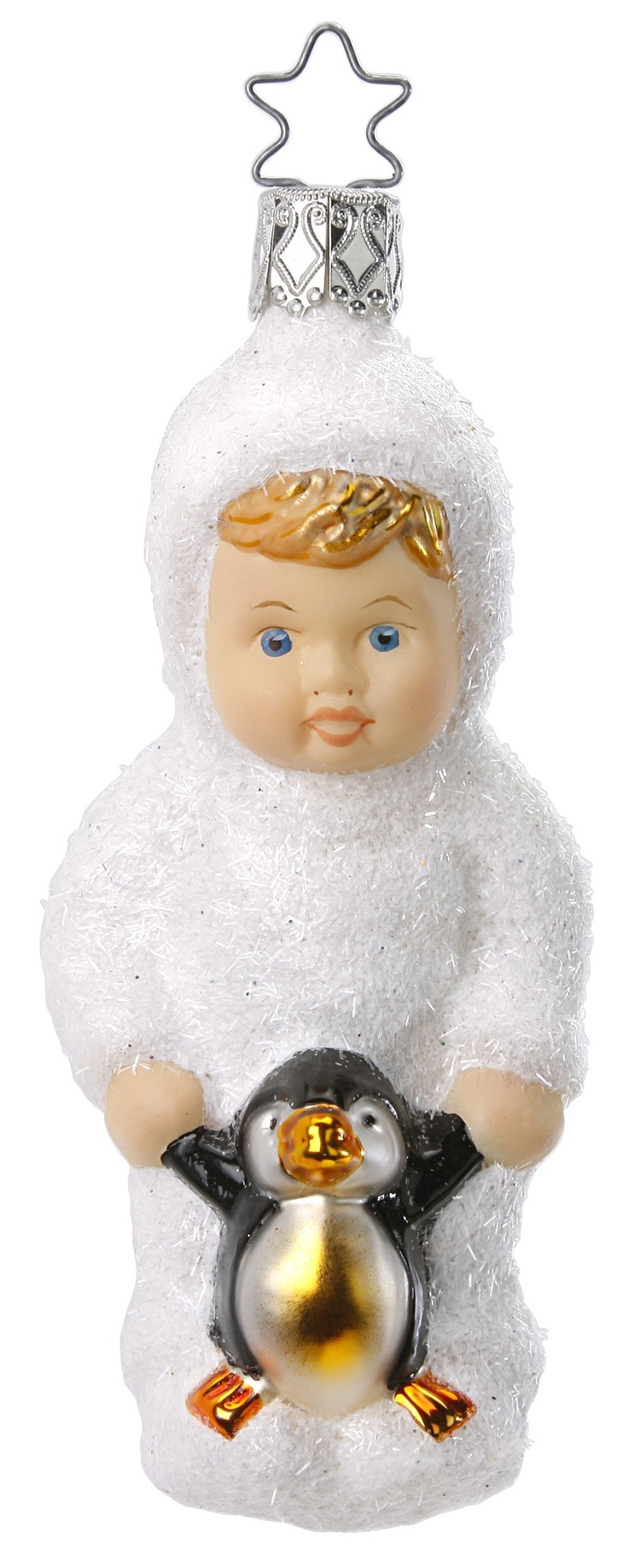 Snowbaby ornaments - Snow Baby New For 2012 Life Touch Ornament 4