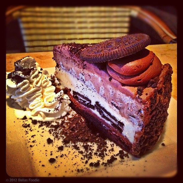 Happy to report this new @Oreo @Cheesecake Factory #cheesecake tastes exactly how it looks– #decadent. It's half price today for #NationalCheesecakeDay. #food