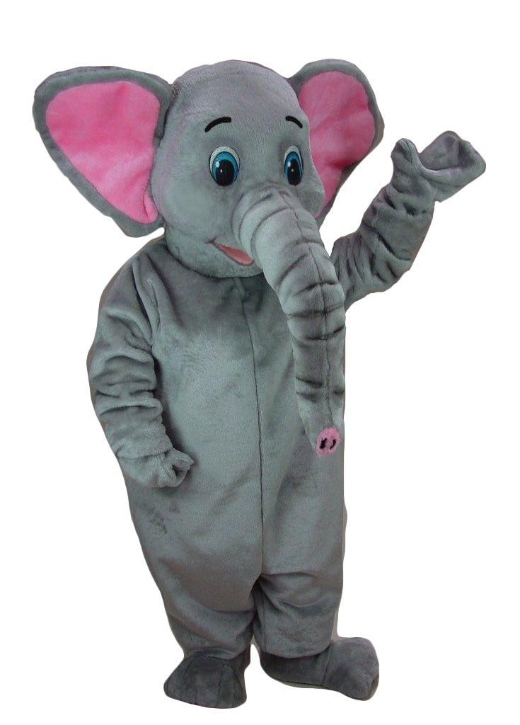 Buy Elephant Mascot Costume 41290 - Deluxe Mascot at Costume-Shop.com Costume