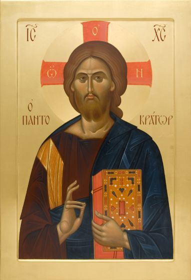 Icon of Christ the Pantocrator | Icon Painting Studio of St Elisabeth Convent | Charitable Projects of St Elisabeth Convent (Belarus). More info here: https://www.facebook.com/H2Hfestivalpage/ | #icon #icons #christianity #orthodoxy #faith #events #festivals #charity #exhibition #ministry #Jesus #Christ #Savior #Lord #God