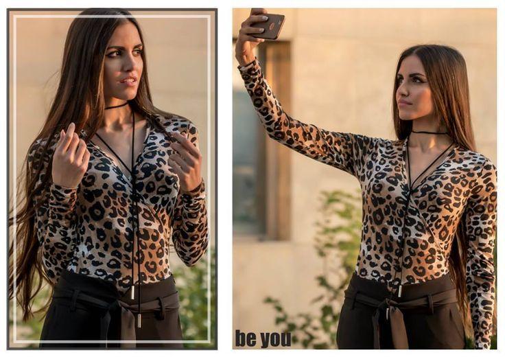 It's time to be Wild🐯 κορμάκι > https://goo.gl/aZ4iMB παντελόνι. > https://goo.gl/OSNUKI  #top #animalprints #blouse #sexy #beyoucomgr
