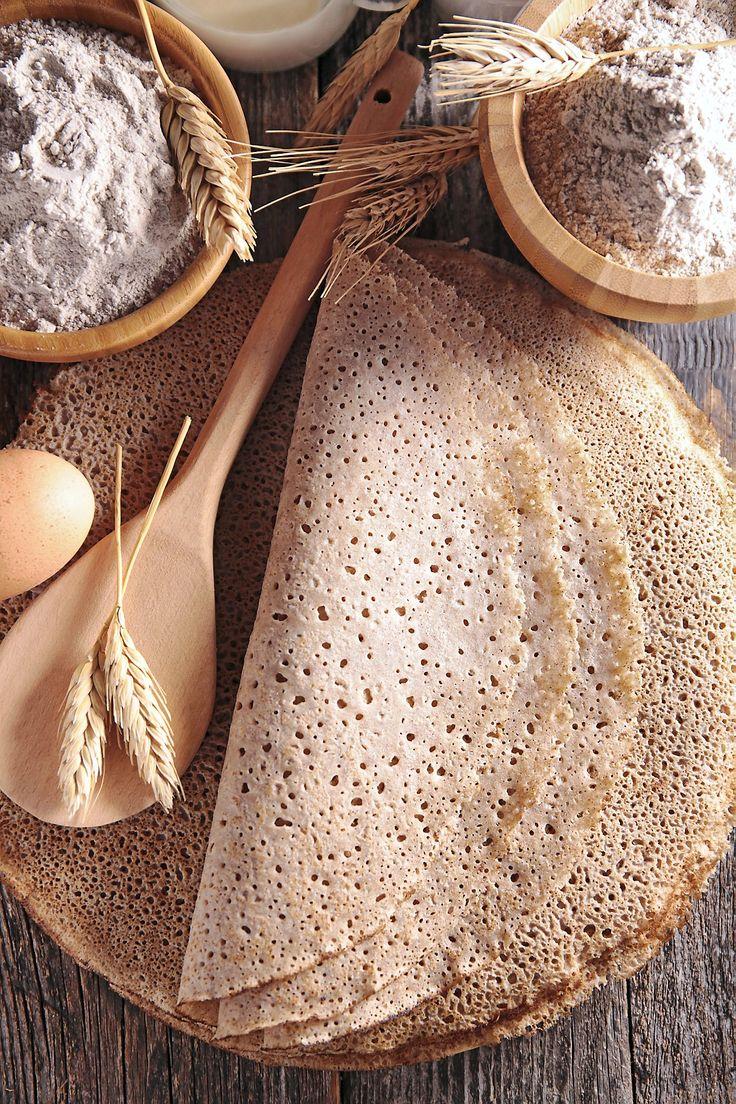 Une pâte à crêpes idéale pour toutes vos garnitures salées !