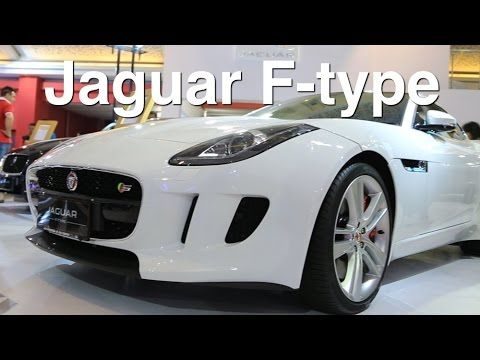 Jaguar F-type coupe Review - IIMS 2014 - YouTube