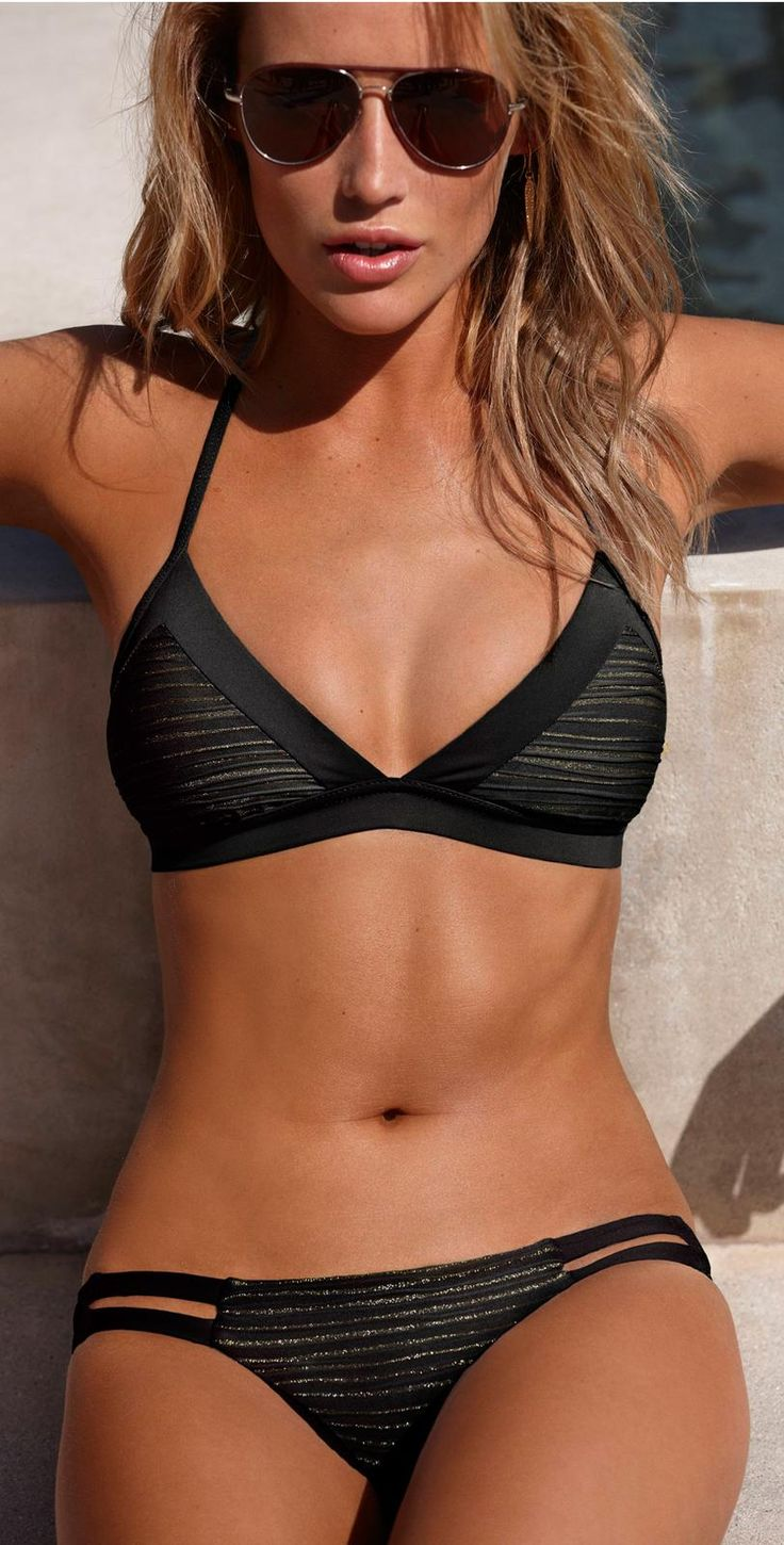 Guys I am SO ready for summer and this bikini looks so comfortable