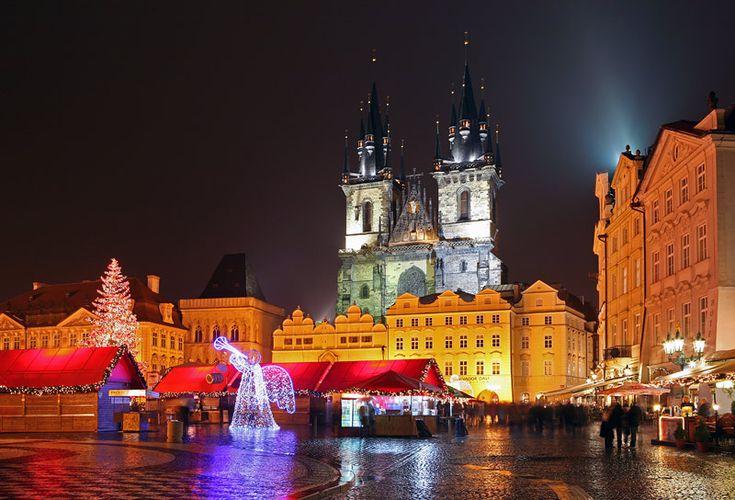 Old Town Square (Czech Republic, Prague)