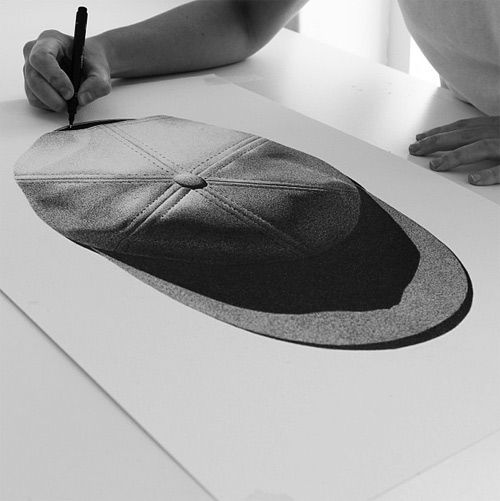 Photorealistic Sketches by The illustrator CJ Hendry.