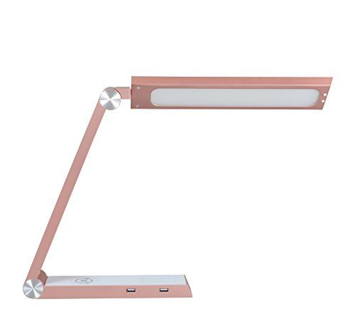 Touch  Intelligent LED Desk Lamp Rose Gold *** For more information, visit image link.Note:It is affiliate link to Amazon.