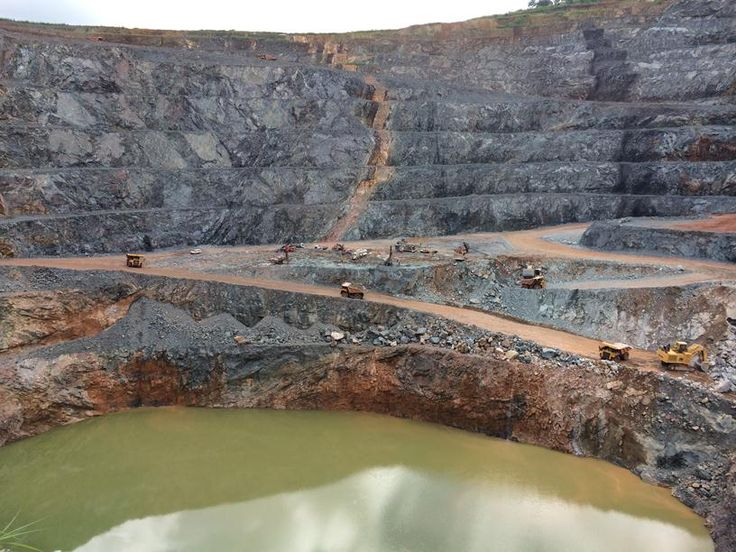 Sabodala open pit - gold mine (2)