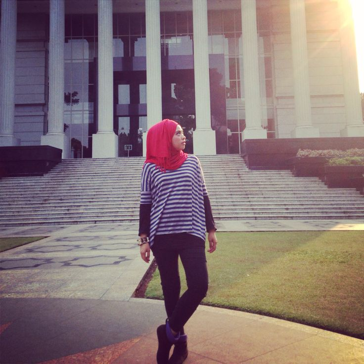 Hijab street style of me
