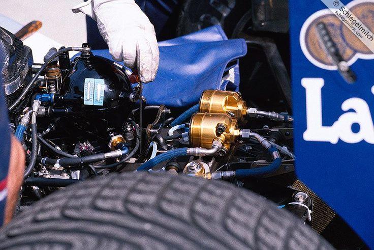 Williams Active suspension