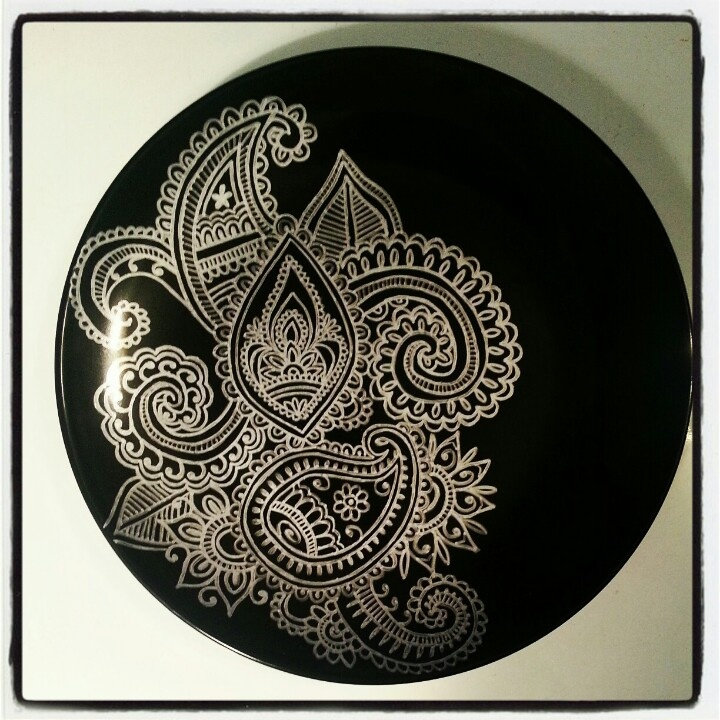 1000 Images About Sharpie Dishes On Pinterest Henna