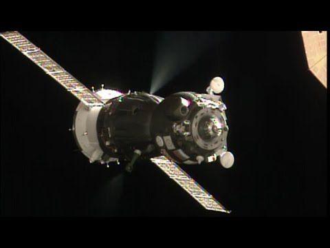Soyuz Docked to Space Station - YouTube