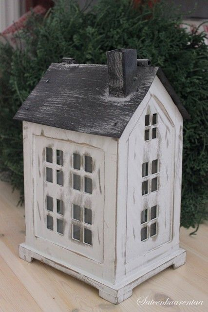 Antiikin valkoinen talolyhty suurempi | sateenkaarentaa