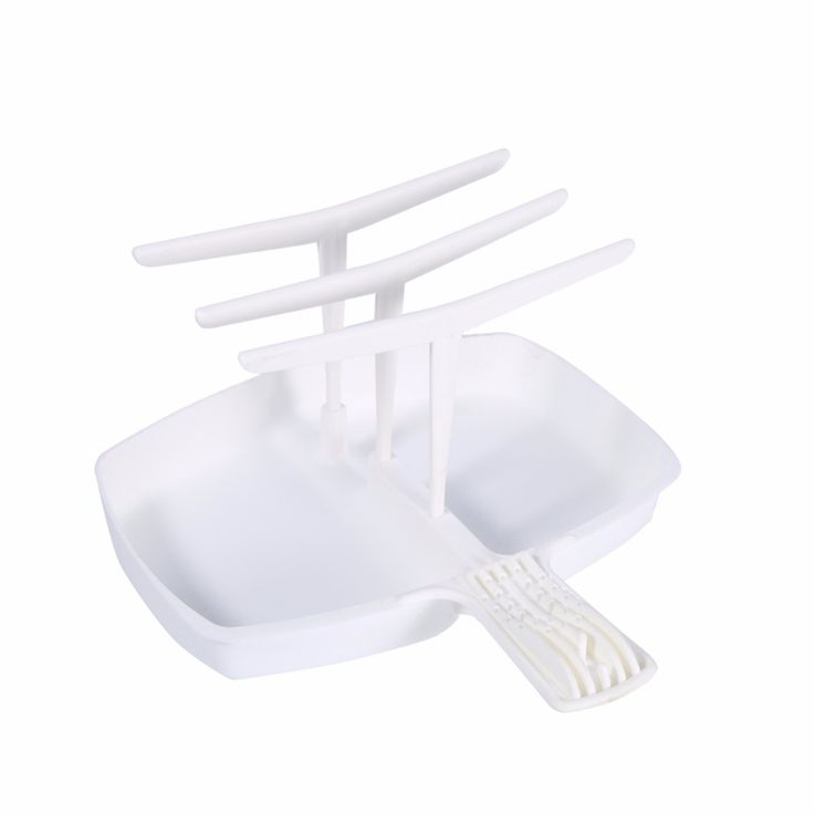 Microwave Meal Bacon Rack Vertical Hanger Cooker Tray Cookware Bar Home Kitchenware Plastic