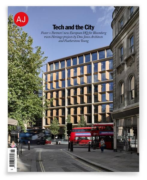 NEW ISSUE ARCHITECTS' JOURNAL 16.11.17 PRINT ARRIVED 17.11.17