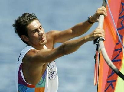 Nikolaos Kaklamanakis, 1968-, is one of #Greece's most popular athletes competing in sailing. Kaklamanakis has won the Mistral class windsurfing World Championship three times, the gold medal at the 1996 Summer #Olympics and the silver medal in the 2004 Summer Olympics. He was the one to lit the torch in the opening ceremony of the 2004 Summer Olympics in #Athens.