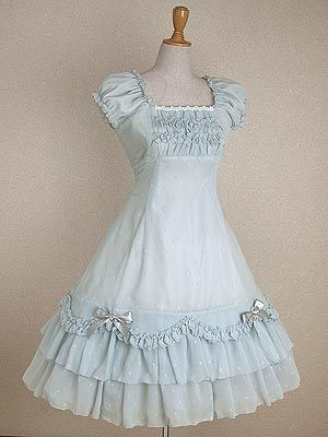 Cute little thing, with more scalloped ruffles.