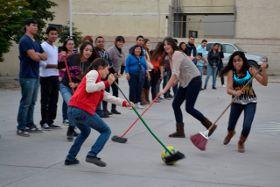 Ideas para jugar y festejar: Juegos para parejas o equipos de padres e hijos