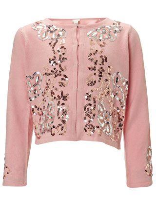 Lillian Embellished Cardigan   Pink   Monsoon