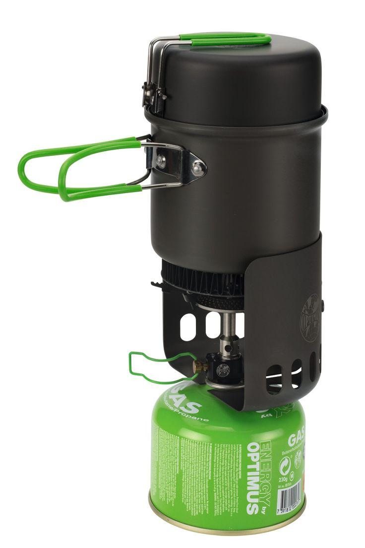 Elektra FE Optimus : réchaud gaz + popote + allume-feu
