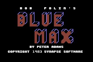 Blue Max for the C64