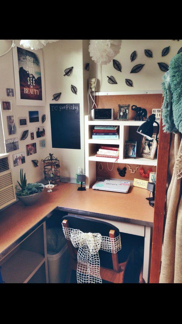 best 25 dorm desk organization ideas on pinterest. Black Bedroom Furniture Sets. Home Design Ideas