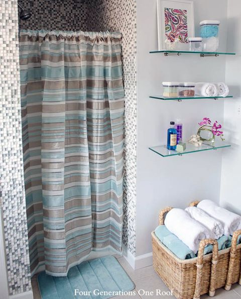 shelving. Top 25 ideas about Bathroom Renovation Inspiration on Pinterest