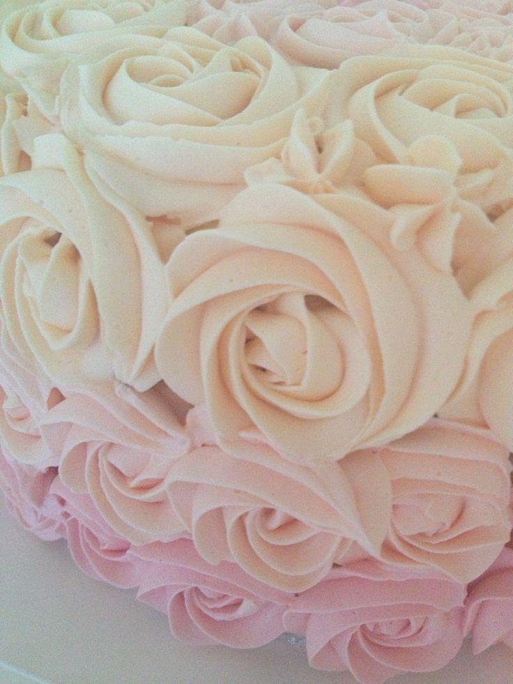 Rose cake crumbsbakery.com.au