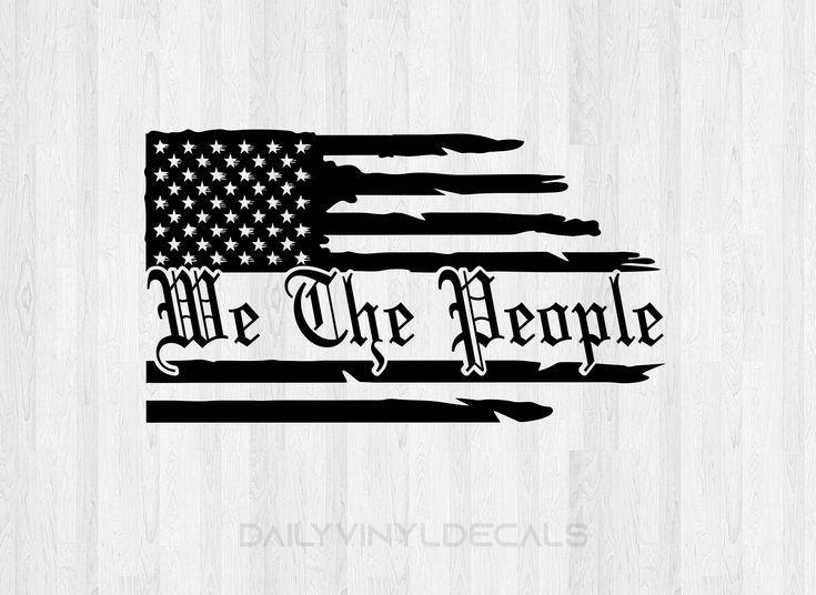 Large gun safe distressed American flag sticker