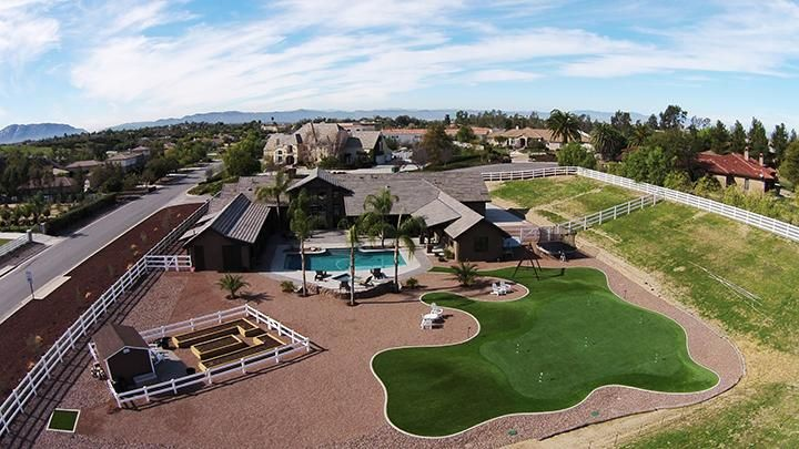 Artificial Golf Green in Southern CA