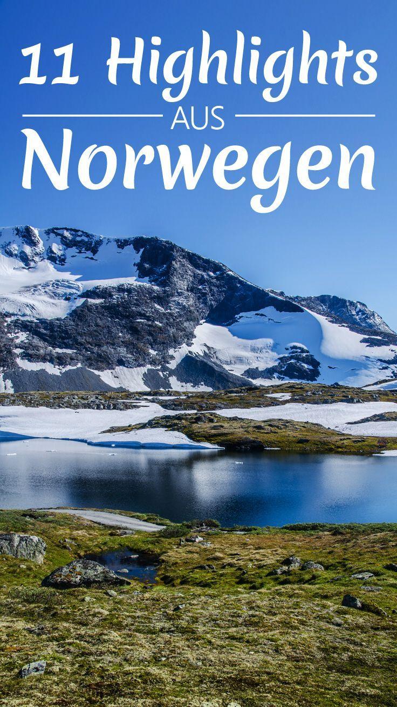 Meine 11 Highlights in Norwegen