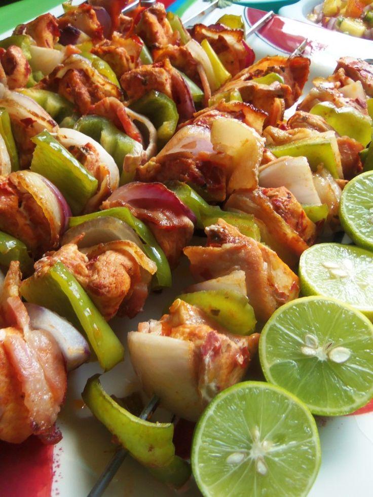 Alambritos de Pollo (Chicken Kabobs)Blogs - Hispanic Kitchen