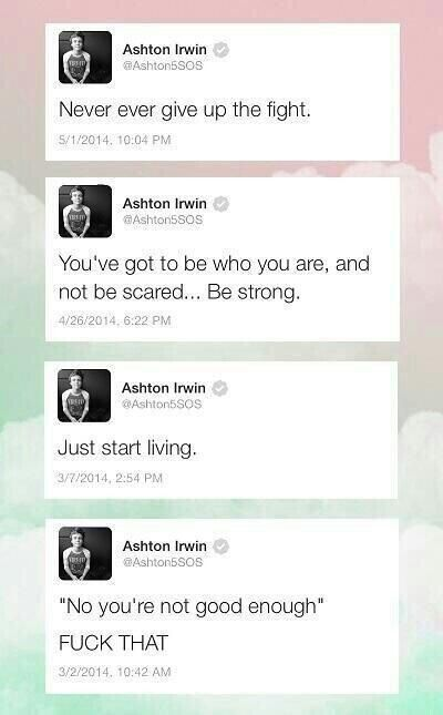 Ashton ♡ ♡ That last one is great! He's such a sweetheart i love this boy!! I smiled while reading this