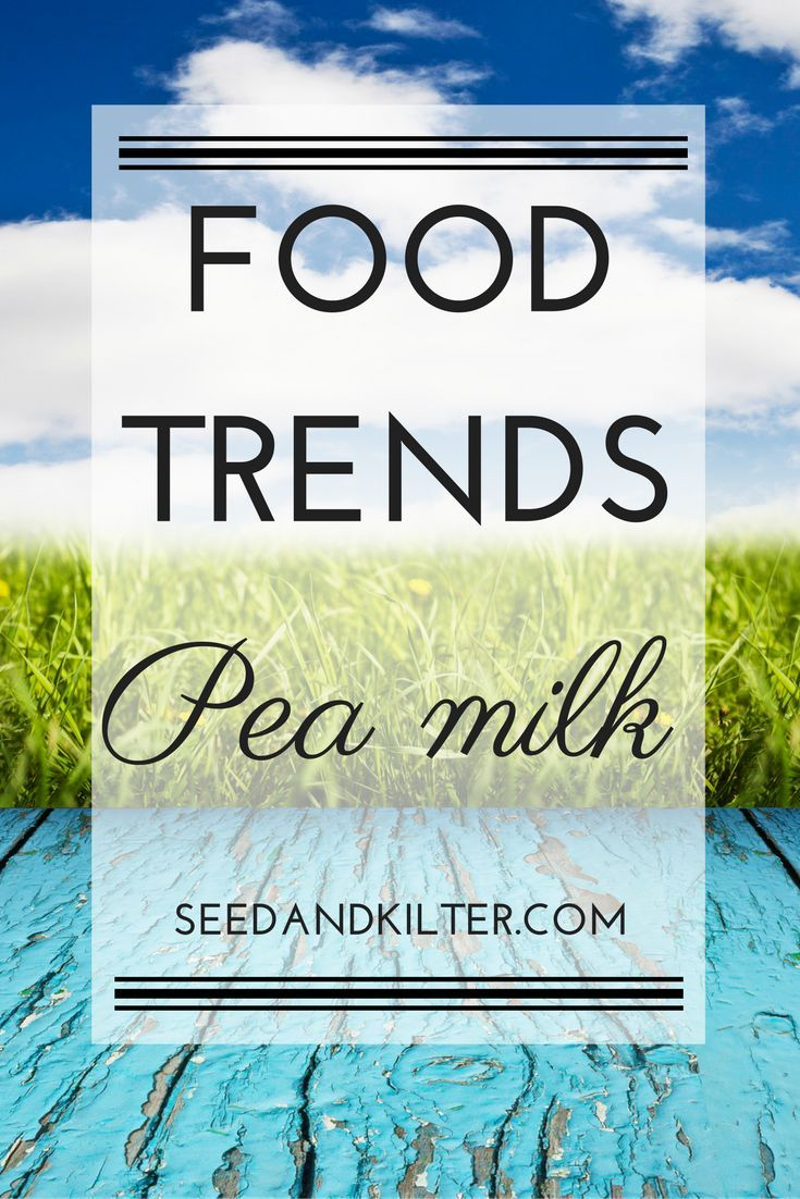 Move over kale and coconut water – there are some new food trends ready to take centre stage this year. This week the spotlight is on Pea Milk