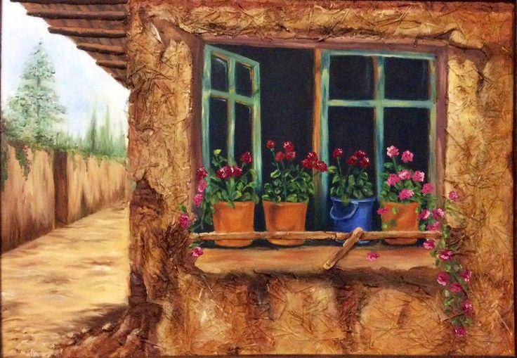 my painting oil color